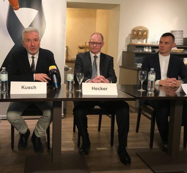 von links: Roger Kusch, Prof Bernd Hecker, Jakob Jarosch